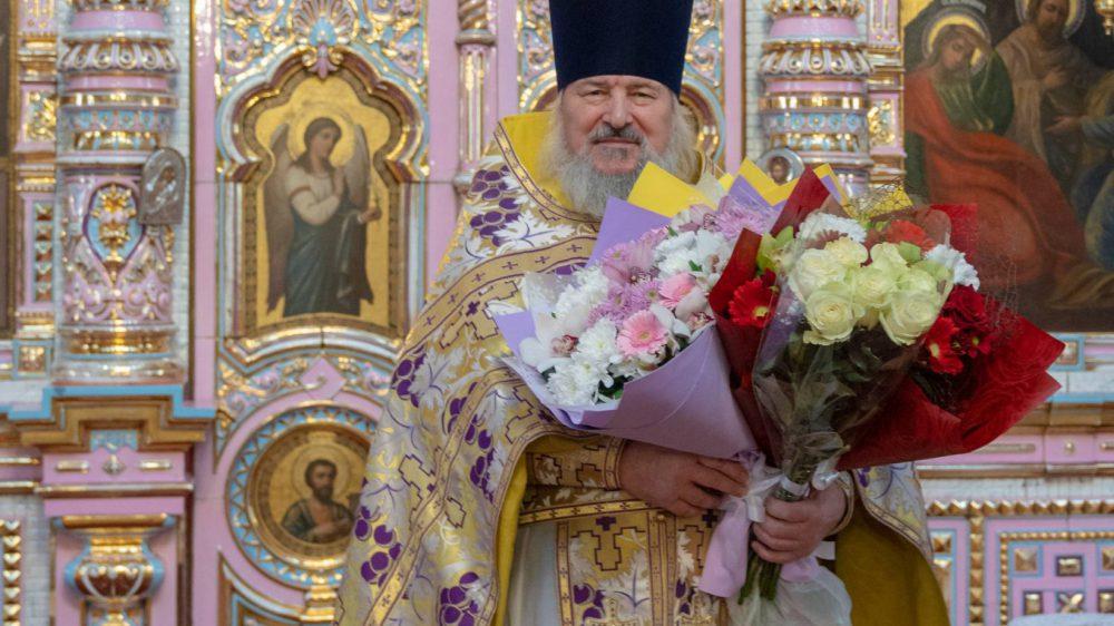 День Ангела у нашего батюшки отца Василия!