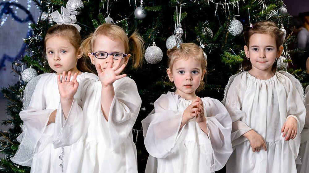 ДК «Родник» 2020 танец Ангелочки