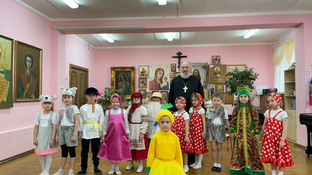Для дошкольников прошла традиционная «Неделя театра».