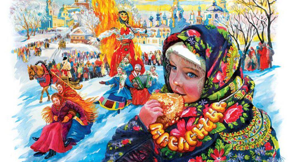 Масленица в православной гимназии св. Иоанна Кронштадтского г. Балашиха.