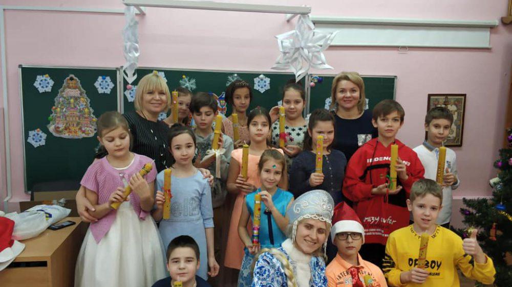 Сказочный денёк, мастер-класс «Рождественская свеча»