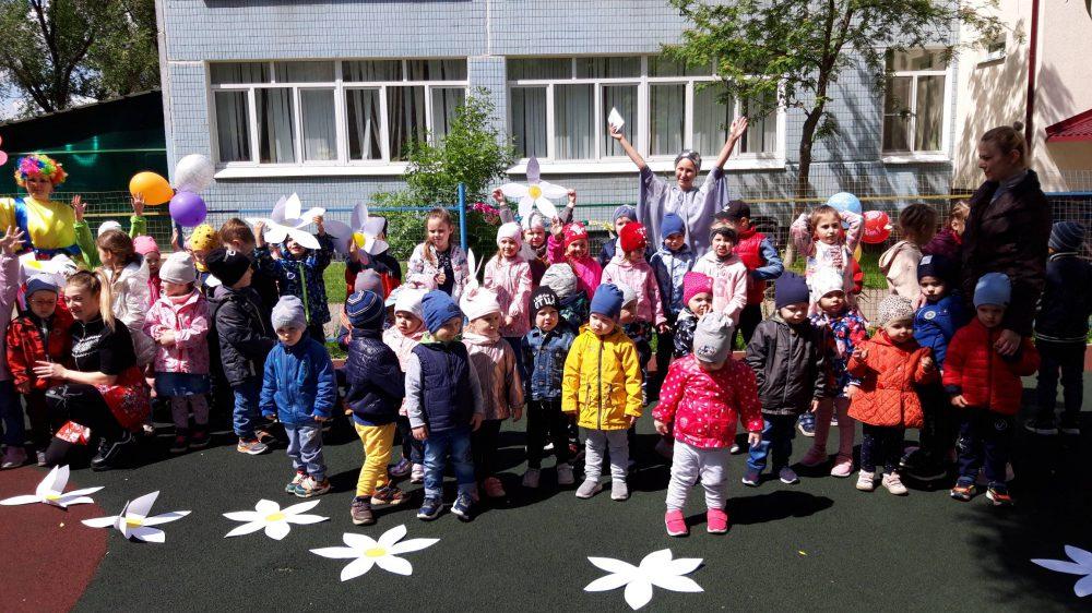 В нашем детском саду «Благовест» 1 июня прошел праздник посвященный «Дню защиты детей».