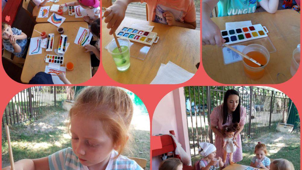 В детском саду «Благовест» прошла «Неделя экспериментирования»